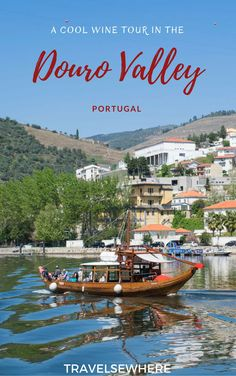 When visiting northern Portugal, the Douro Valley is one destination tourists can't miss. Here's what you can expect with a Douro Valley wine tour. Portugal Travel, Spain And Portugal, Portugal Trip, Douro Valley, Group Travel, Group Tours, Day Tours, Travel Inspiration, Beautiful Places