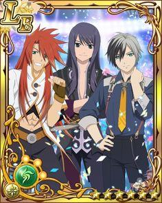 Yuri, Luke, and Ludger