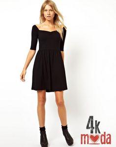 Siyah elbise modelleri 2013