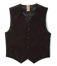 Class Club Gold Label 820 Basic Black Vest #Dillards