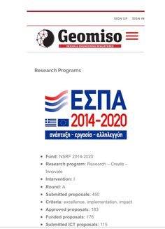 #Geomiso #Company #Research  http://www.geomiso.com/about-us/research-programs/