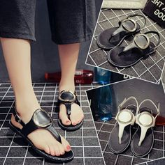 Delivery 2 Weeks  13854 korean flat flip beach sandal  Dropship rm38 Pos rm7sm/rm14ss  Saiz : 35-39 Upper Material: Synthetic Sole Material:  Rubber Lining Material:Synthetic