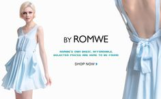 ROMWE:  Cheap prices, interesting collection.