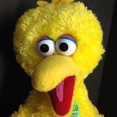 "Big Bird Build a Bear Sesame Street Limited Edition Plush Stuffed Animal 23"" #AllOccasion"