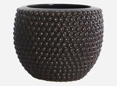 Dot Pot -Dark gray / Peroba