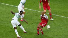 Silvestre Varela (Portugal) - 3rd goal - Denmark 2-3 Portugal - Group B Knockout