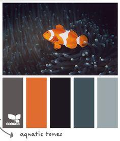 Design Seeds, for all who love color. Apple Yarns uses Design Seeds for color inspiration for knitting and crochet projects. Design Seeds, Colour Pallette, Colour Schemes, Color Combos, Orange Palette, Color Palate, Color Concept, Coral Orange, Color Schemes