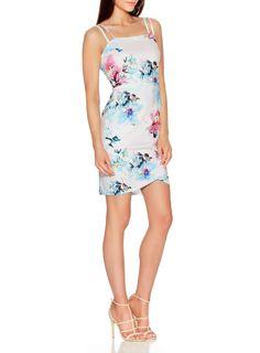 **Quiz Double Strap Bodycon Dress
