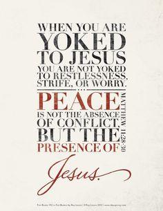 matthew 11:28-30 by lessie