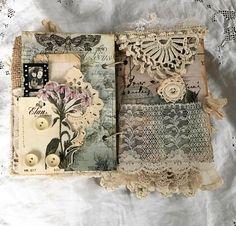 Vintage Heirloom Journal Remember
