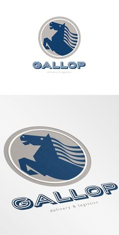 Gallop Delivery and Logistics Logo by patrimonio on Creative Market