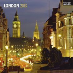 """London Wall Calendar: The writer Samuel Johnson said it best: """"When man is tired of London, he is tired of life."""" The capital of the United Kingdom, this world-class city is both a setting for the regal old world and the modern metropolis.  $14.99  http://www.calendars.com/Xing-Signs/London-2013-Wall-Calendar/prod201300010773/?categoryId=cat100022=cat100022#"""