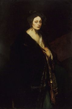 Robert Henri - Woman in Manteau - 1898