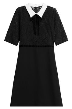 New The Kooples Lace Dress with Contrast Collar fashion online. [$249]?@shop.fshdress<<