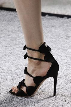 """""""Giambattista Valli"""" The best designer shoes and shoe trends from the Spring/Summer 2017 fashion collections so far"""