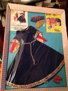 """1964-1965 Barbie """"Guinevere"""" #873 (Little Theatre SE)"""