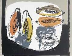 Rosemary Vanns prints and Rosemary Vanns paintings are available to buy from our online shop. We source and regularly exhibit Rosemary Vanns Be Still, Still Life, Fruits Images, Royal College Of Art, London Art, Art Abstrait, Mark Making, Illustrations, Collages