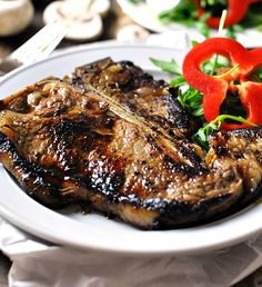 Steak with Coffee & Soy Marinade | www.fussfreecooking.com