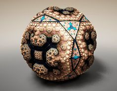 Simply Creative: Fabergé Fractals by Tom Beddard