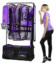 Pack 2 Rack Rolling Foldable Dance Bag In 2019 Christmas