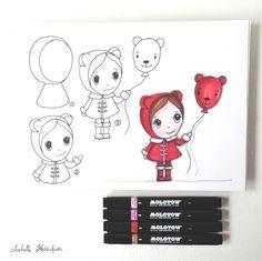 Isabelle Kessedjian: DIY : dessin du mercredi #2