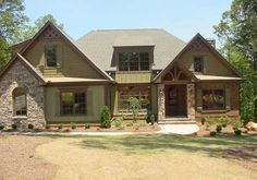 Stone siding on pinterest house colors and porches for Mixing brick and stone exterior