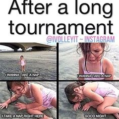 I almost fell asleep on sidewalk after practice the other day! This sooooooo true