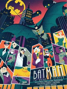 Amazing Batman the Series poster by Tim Anderson on Behance Batman Cartoon, Joker Batman, Batman Comics, Cartoon Art, Lego Batman, Batman Beyond Joker, Gotham Batman, Batman Robin, Batman Music