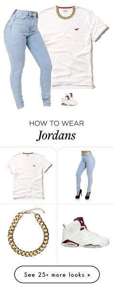 """Untitled #747"" by prettygirlnunu on Polyvore featuring moda, Hollister Co. i Club Manhattan"