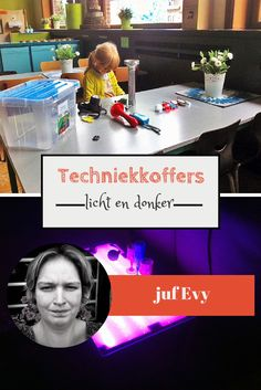 Techniekkoffers van juf Evy - licht en donker - Lespakket Science Experiments Kids, Science For Kids, Science Projects, Licht Box, Science Party, 21st Century Skills, Primary School, Light Table, Diy Crafts For Kids