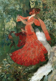 Georges de Feure (1868-1943) French Art Nouveau Painter