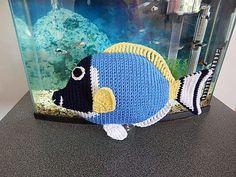 Amigurumi Crochet Pattern - Powderblue Surgeonfish  Pattern No.34