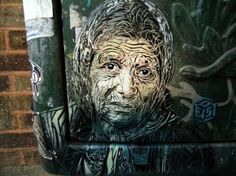 street art 1 This street artist has a way with lines (22 photos)