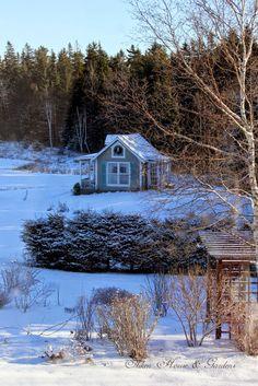 Aiken House & Gardens: On a Sunny Winter Day