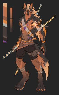 Wolf Character, Fantasy Character Design, Character Design Inspiration, Cute Animal Drawings, Cartoon Drawings, Werewolf Art, Fantasy Beasts, Anime Furry, Fantasy Art