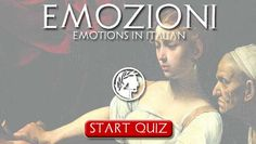 """""""Emozioni"""" - Emotions in Italian. Podcast and QUIZ - Dante Learning"""