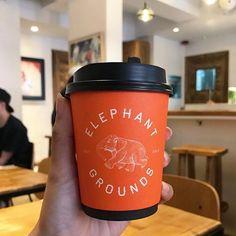 Country: 🇭🇰 Location: Hong Kong Cafe: @elephantgrounds Take Away Coffee Cup, Coffee Cups, Hong Kong Cafe, Mugs, Country, Tableware, Instagram, Coffee Mugs, Dinnerware