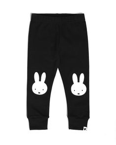 Made with Oeko-Tex certified cotton Black coloured base Printed with safe, water-based inks Expertly and ethically made in the UK Be kind to the planet and your clothes - wash at 30 Miffy, Washing Clothes, Black Leggings, Icon Design, Product Launch, Sweatpants, Portrait, Cotton, How To Make