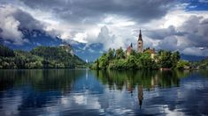 20 most beautiful towns in Europe every tourist need to visit at least one - Living + Nomads – Travel tips, Guides, News & Information! Assumption Of Mary, Water Under The Bridge, Bled Slovenia, Slovenia Travel, Lake Bled, Belle Villa, Riomaggiore, Cinque Terre, Small Towns