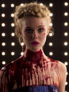 "Elle Fanning in Nicolas Winding Refn's ""The Neon Demon"""