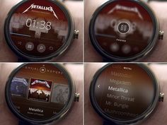 Android Wear Music Library #ui #watch