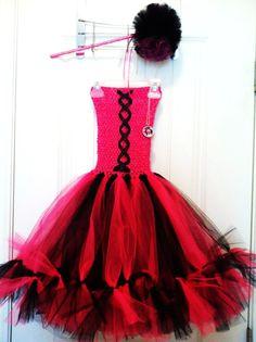 Monster High Draculaura inspired Petti Tutu dress / Halloween costume - LoveItSoMuch.com