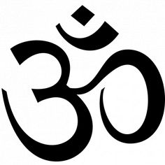 The Om symbol has many interpretations. Om is a mantra, origi. Namaste Symbol, Om Symbol, Om Tattoo, Namaste Tattoo, Symbol Tattoos, Chakras, Mantra, Breathe Symbol, Yoga Symbole