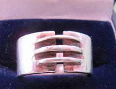 Modernist Retro 925 Silver Jewellery. Retro Bayanihan