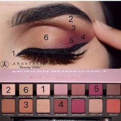 Makeup Tricks 1. If you have a hard time using soft eyeliner pencils, draw a thick line onto your ha