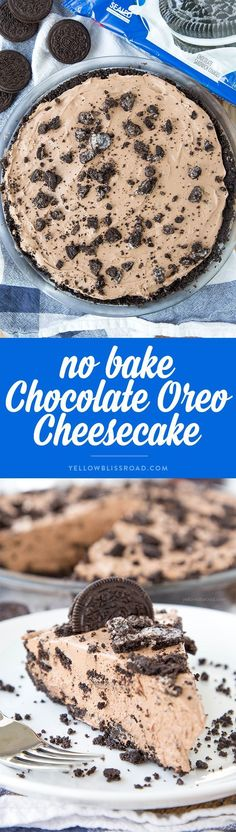No Bake Chocolate Or