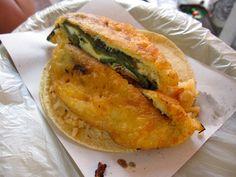 Chile Relleno Taco:  Tacos Las Cazuelas:  Mexico DF