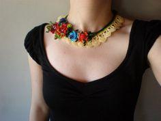 Chrysanthemum Indicum ... Freeform Crochet by irregularexpressions