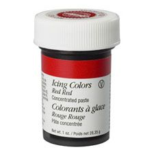 Red-Red Icing Colors