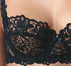http://www.bottlemeamessage.com Black Lace Bra                                                                                                                                                      More